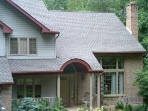 House with 3 Tab Shingles on the Roof