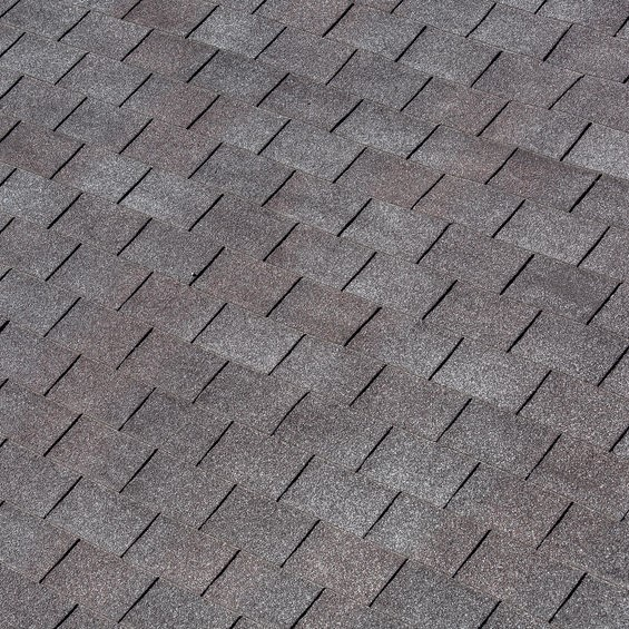 shingle on a roof