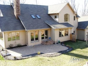 Architectural Shingles on a Residential Roof