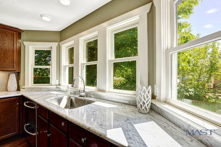 Replacing Windows Has Left This Kitchen With More Natural Light.