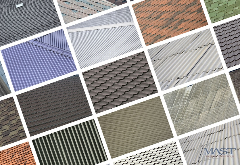 A Collage of Various Roofing Materials