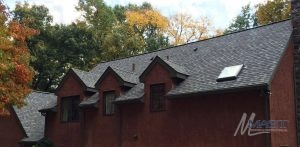 House with Premium Roofing Shingles