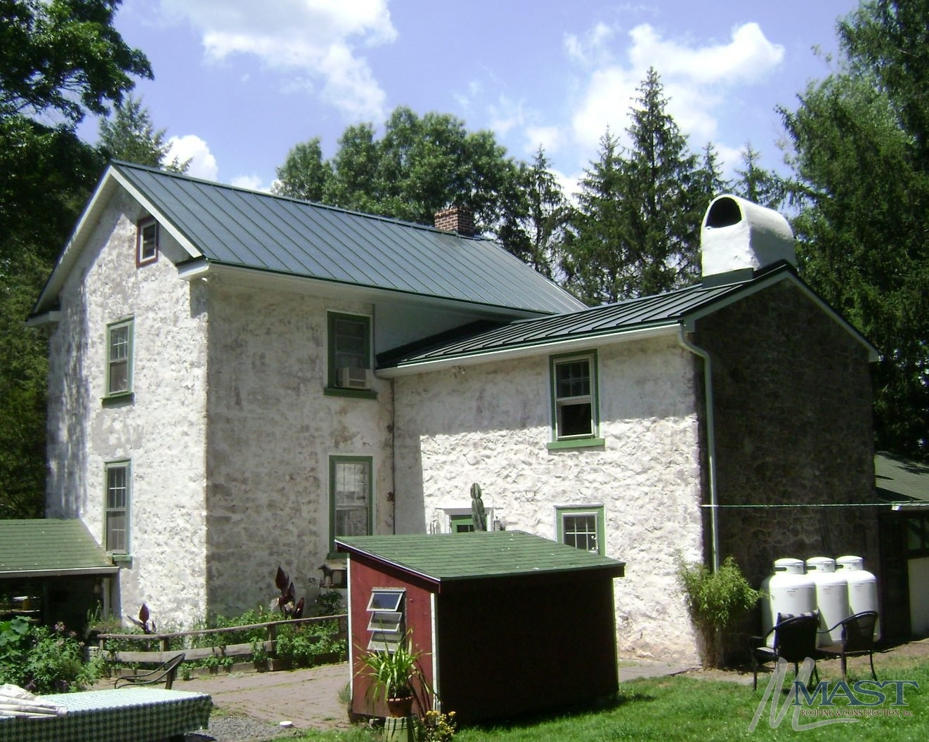 Standing Seam Metal Roof Installation In Oley Pa Metal Roofing
