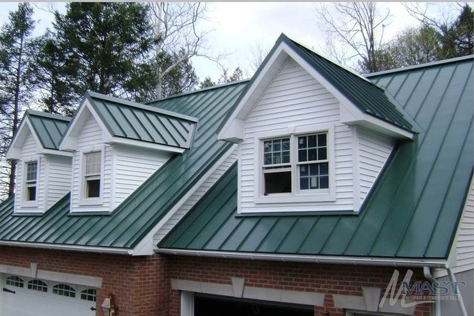 Standing Seam Metal Roof Installation In Oley Pa Amp Metal