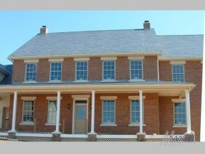 Historic Home with Synthetic Shingles on the Roof
